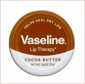 Vaseline Lip Therapy Cocoa Butter Heals Dry Lips Unilever New Tin Quick Shipping