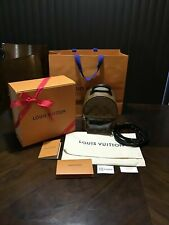 Pre-Sale! New Auth Louis Vuitton LV Monogram Palm Springs Mini Backpack Reverse