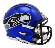 NFL Seattle Seahawks Chrome Alternate Speed Mini Helmet Unisex Fanatics