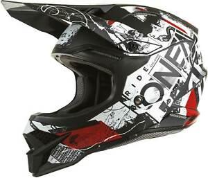 O'Neal 3 SRS Helmet - MX Motocross Dirt Bike Off-Road MTB ATV Adult