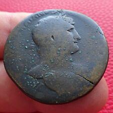 Sesterce Hadrien, La Félicité, Hadrianus, Roman coin, monnaie Romaine