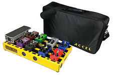 Guitar Effects Pedal board Accel XTA-21 with tote