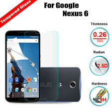 9H Premium Real Tempered Glass Screen Film Protector For Motorola Google Nexus 6