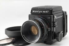 Exc++++ Mamiya RB67 Pro S Camera + Sekor 127mm f/3.8 Lens w/ Hood From Japan