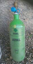 Bouteille gaz mig ATAL acier argon co2 semi automatique 0,55m3 550 litres pleine