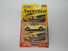Matchbox SuperFast Chevrolet Camaro SS #40