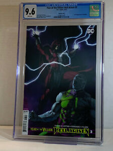 Year Of The Villain Hell Arisen #3 Variant 1st Appearance Punchline CGC 9.6