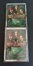 Pirates of the Caribbean: Dead Man's Chest DVD, 2006, 2-Disc Set NEW Slipcover