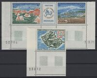 CG141590/ FRENCH ANTARCTIC - AIRMAIL / Y&T # 23 – 26A MINT MNH CV 111 $