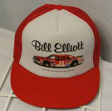 Vtg Bill Elliot #9 NASCAR Coors Racing Mesh Snapback Hat Trucker Cap