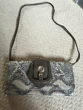 Casa di Borse Ladies Handbag Snake Skin Effect NEW