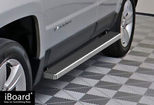 """4"""" iBoard Running Boards Nerf Bars Fit 07-17 Jeep Patriot"""