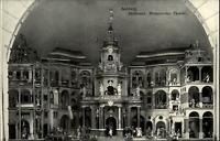 Salzburg Österreich alte Postkarte 1908 datiert Hellbrunn Mechanisches Theater