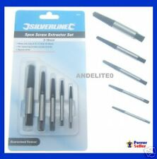 New Damaged Broken Nut Bolt Screw Removal Remover Extractor Puller Bit Set 5 Pc