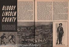 Bloody Lincoln County, NM War+Bell,Bonney,Brady, Brewer,Chisum,Dudley,Garrett