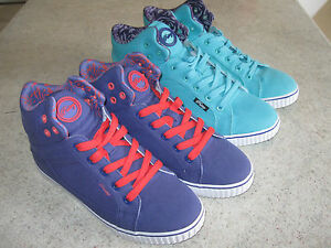 PASTRYBoys Girls Shoes Lace Up purple green school casual Size8/9/10/11RR P69.95