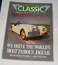 CLASSIC AND SPORTSCAR DECEMBER 1988 - FIAT DINO/WORLD'S MOST FAMOUS JAGUAR