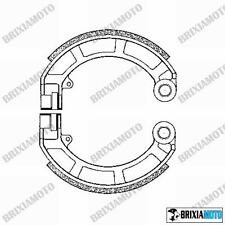 COUPLE OF REAR DRUM BRAKE SHOES SHOE PIAGGIO 125 Vespa Super (VNC1T) 66/68