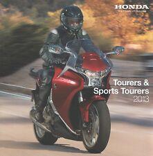 Honda Tourers  Brochure 2013 - Gold Wing ST1300 Pan VFR800 CBR600F NT700V Deauvi