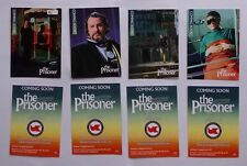THE PRISONER 2 Rare 1/200 PREVIEW SET  Trading Cards 2017 YEARSET EXCLUSIVE