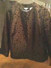 Laura Ashley Petite Brown Suit  Jacket in Size PL