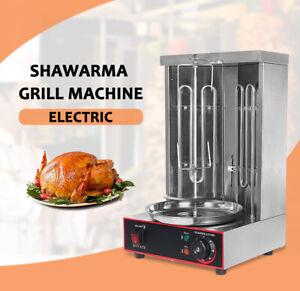 Electric Griddle Shawarma BBQ Grill Gyros Rotisserie Meat Roaster AU Plug