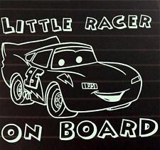 Little Racer On Boad Lightning MacQueen window STICKER DECAL CAR COLOUR DUB JDM