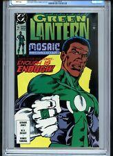 Green Lantern #16 CGC 9.8 White Only Graded Copy John Stewart