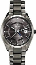 Rado HyperChrome XL Grey Dial Grey Ceramic Bracelet and Case Mens Watch R3216510