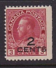 Canada, KG V 140, KG V Admiral Provisional Issue Mint
