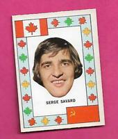 RARE 1972-73 OPC TEAM CANADA SERGE SAVARD CANADA CUP NRMT CARD (INV# C8044)