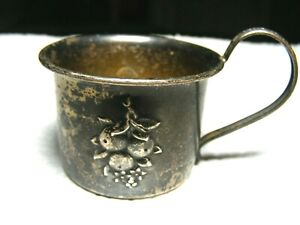 1940's Webster Sterling Silver Baby Cup