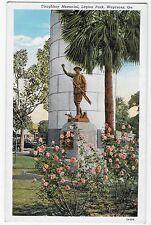 Waycross GA Georgia Doughboy Memorial Legion Park VIntage Postcard
