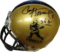 Paul Hornung 56 H Autographed Heisman Trophy Mini Helmet