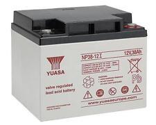 Yuasa NP38-12I Industrial 12V / 38Ah VRLA Batterie, wartungsfrei VdS