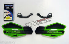 Powermadd Kawasaki KFX450R Star Handguards Black/Green