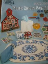 PLASTIC CANVAS PROJECTS EASY TO MAKE BUTTERFLIES PLACEMAT COASTER SET FRAME