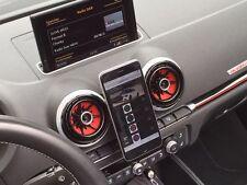 Audi A3 S3 RS3 8v quattro Carbonoptik Magnethalter + Gegenstück für alle Handys