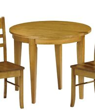Extending Dining Table Kitchen Extendable Drop Leaf Small Room Space Pine Wood