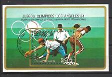 Jeux Olympiques d' été Nicaragua (84) bloc oblitéré
