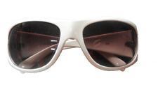 Alpina Sonnenbrille A93 - Authentics Styles - Rahmen weiß - Glas braun  A8363410