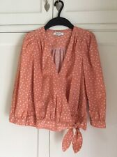 Madewell Ladies Wrap Top Size XS