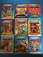 Lot of MOTU vintage He-Man mini comics