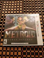 Metroid: Samus Returns (Nintendo 3DS, 2017) Authentic Tested Great condition