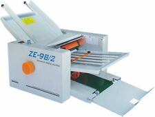 210*420mm Paper Auto Folding Machine 2 Folding Plates ZE-9B/2