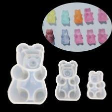 Gummy Bear Candy Silicone Resin Mold DIY Cake Chocolate Fondant Pendant Jewelry