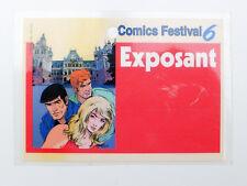 CORIA Bob Morane carte exposant Cimcs Festival 6
