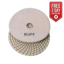 "Specialty Diamond 7Wbuff 7"" White Buffing Pad"