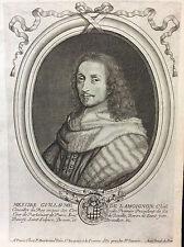 Guillaume de Lamoignon marquis de Basville 1617-1677 Nicolas de Larmessin 1679