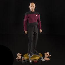 Star Trek TNG 1:6 Captain Jean-Luc Picard Action Figure QMX Official Collectible